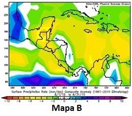 Informacin climtica para Centroamerica y Repblica Dominicana